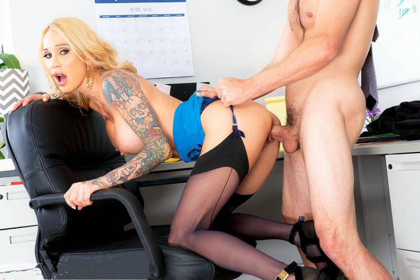 Толстая Секретарша Занимается Сексом В Офисе